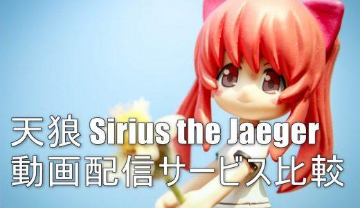 【アニメ】天狼 Sirius the Jaegerが配信されてる動画配信サービスの比較