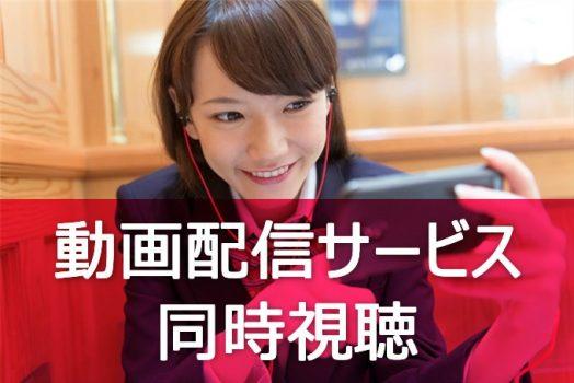 動画配信サービス 同時視聴